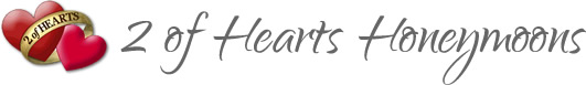 2 of Hearts Honeymoon Logo